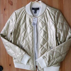 Forever 21 Gold Jacket - Brand New